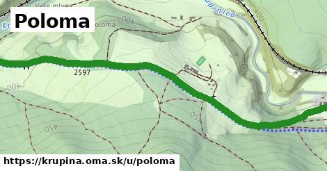 ilustrácia k Poloma, Krupina - 2,0km