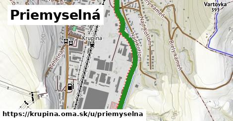 ilustrácia k Priemyselná, Krupina - 1,50km