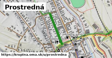 ilustrácia k Prostredná, Krupina - 227m