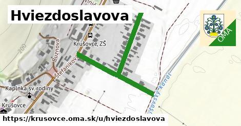 ilustrácia k Hviezdoslavova, Krušovce - 471m