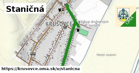 ilustrácia k Staničná, Krušovce - 0,85km