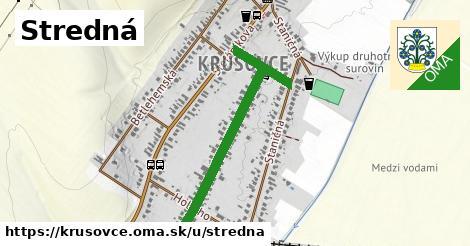 ilustrácia k Stredná, Krušovce - 0,78km