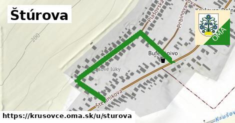 ilustrácia k Štúrova, Krušovce - 501m
