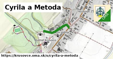 ilustrácia k Cyrila a Metoda, Krušovce - 300m