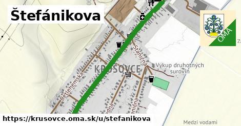 ilustrácia k Štefánikova, Krušovce - 2,4km
