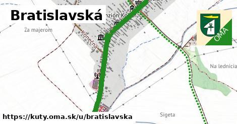 ilustrácia k Bratislavská, Kúty - 2,3km