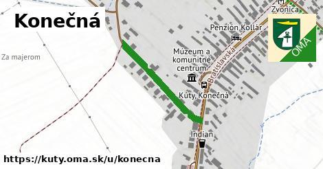ilustrácia k Konečná, Kúty - 305m