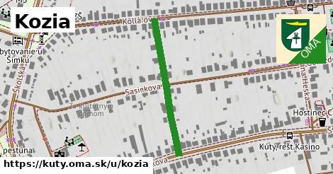 ilustrácia k Kozia, Kúty - 309m