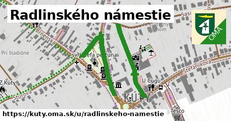 ilustrácia k Radlinského námestie, Kúty - 625m