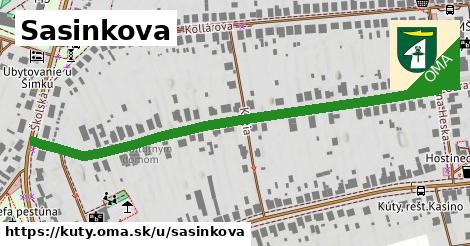 ilustrácia k Sasinkova, Kúty - 661m