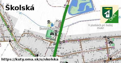 ilustrácia k Školská, Kúty - 681m