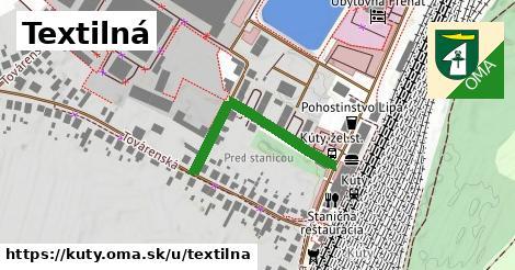 ilustrácia k Textilná, Kúty - 297m