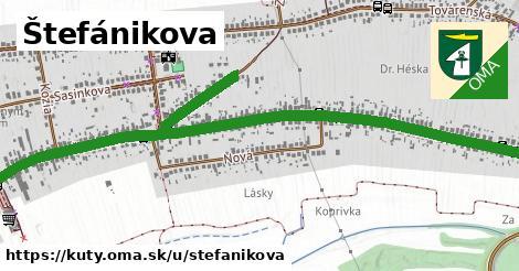ilustrácia k Štefánikova, Kúty - 2,3km