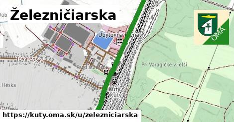 ilustrácia k Železničiarska, Kúty - 1,03km