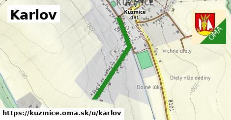 ilustrácia k Karlov, Kuzmice - 604m