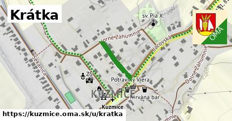 ilustrácia k Krátka, Kuzmice - 155m