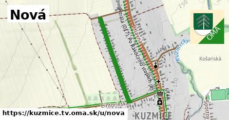ilustrácia k Nová, Kuzmice, okres TV - 593m
