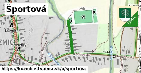 ilustrácia k Športová, Kuzmice, okres TV - 212m