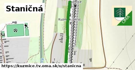 ilustrácia k Staničná, Kuzmice, okres TV - 378m