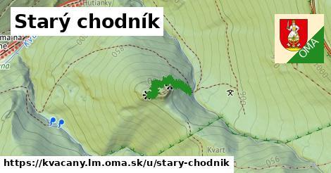 ilustrácia k Starý chodník, Kvačany, okres LM - 170m