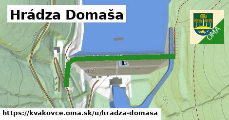 ilustrácia k Hrádza Domaša, Kvakovce - 426m