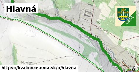 ilustrácia k Hlavná, Kvakovce - 2,5km