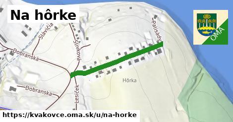 ilustrácia k Na hôrke, Kvakovce - 414m