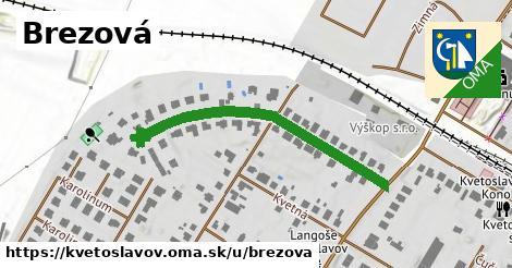 ilustrácia k Brezová, Kvetoslavov - 399m