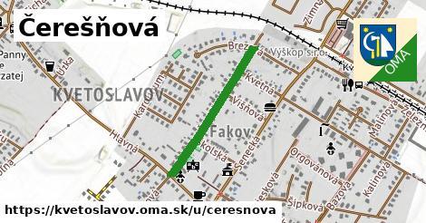 ilustrácia k Čerešňová, Kvetoslavov - 542m