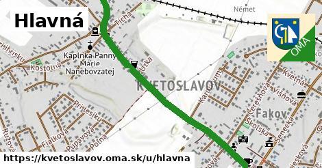 ilustrácia k Hlavná, Kvetoslavov - 1,30km