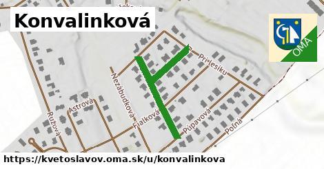 ilustrácia k Konvalinková, Kvetoslavov - 328m