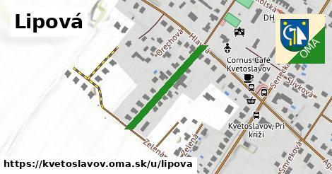 ilustrácia k Lipová, Kvetoslavov - 252m