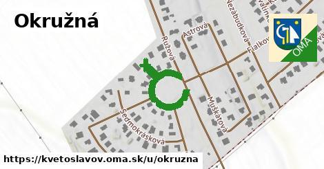 ilustrácia k Okružná, Kvetoslavov - 292m