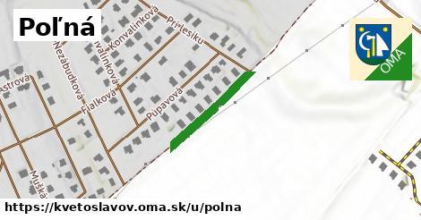 ilustrácia k Poľná, Kvetoslavov - 1,31km