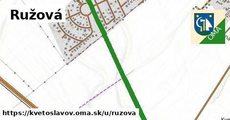 ilustrácia k Ružová, Kvetoslavov - 1,41km