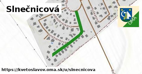 ilustrácia k Slnečnicová, Kvetoslavov - 317m