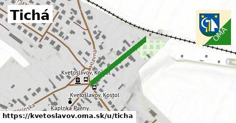ilustrácia k Tichá, Kvetoslavov - 283m