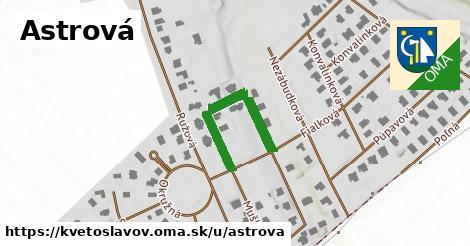 ilustrácia k Astrová, Kvetoslavov - 367m