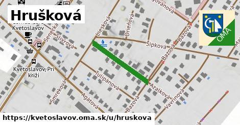 ilustrácia k Hrušková, Kvetoslavov - 383m
