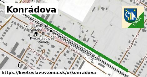 ilustrácia k Konrádová, Kvetoslavov - 644m