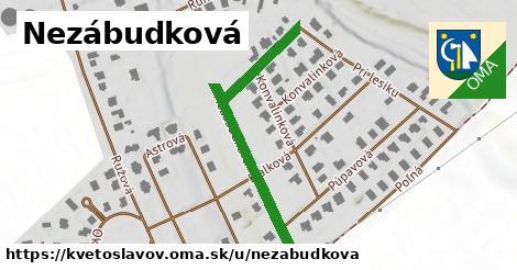 ilustrácia k Nezábudková, Kvetoslavov - 496m