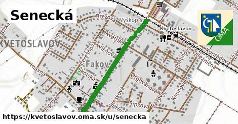 ilustrácia k Senecká, Kvetoslavov - 0,92km
