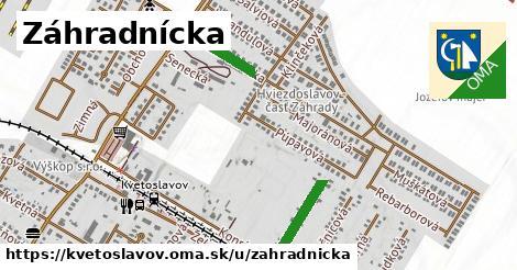 ilustrácia k Záhradnícka, Kvetoslavov - 281m