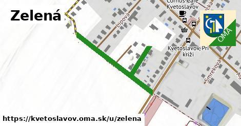 ilustrácia k Zelená, Kvetoslavov - 411m