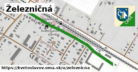 ilustrácia k Železničná, Kvetoslavov - 473m