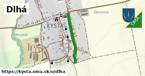 ilustrácia k Dlhá, Kysta - 625m