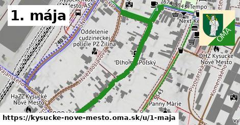 ilustrácia k 1. mája, Kysucké Nové Mesto - 589m