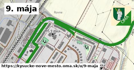 ilustrácia k 9. mája, Kysucké Nové Mesto - 1,26km