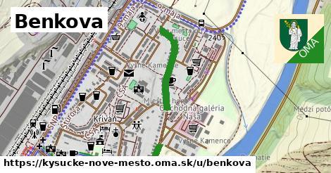 ilustračný obrázok k Benkova, Kysucké Nové Mesto