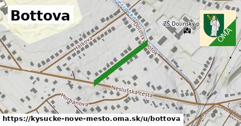 ilustrácia k Bottova, Kysucké Nové Mesto - 203m